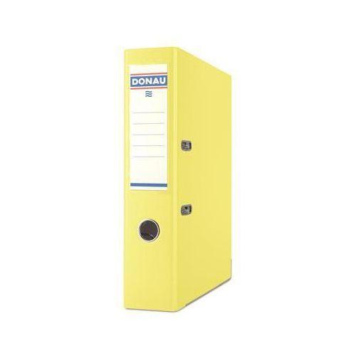 Segregator DONAU Premium, PP, A4/75mm, żółty