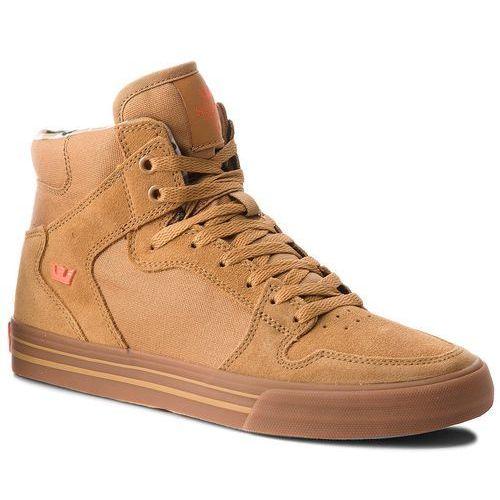 Sneakersy - vaider 08044-278-m tan/lt gum marki Supra