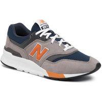 New balance Sneakersy - cm997hex kolorowy szary
