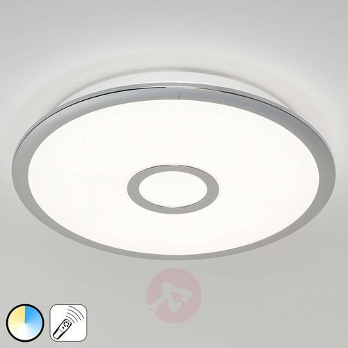 Trio osaka lampa sufitowa led chrom, 1-punktowy - nowoczesny - obszar wewnętrzny - osaka - czas dostawy: od 4-8 dni roboczych