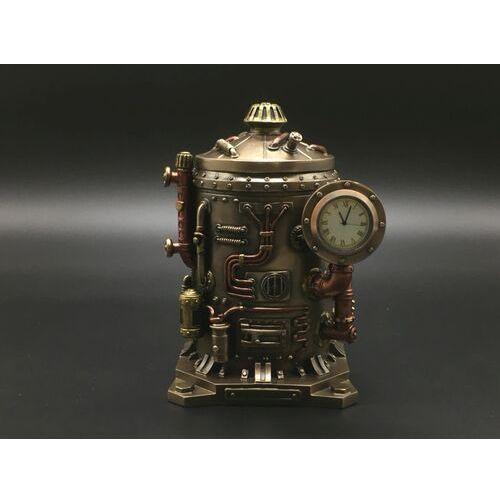 Veronese Steampunk tajemnicza szkatułka zegar (wu77183a4)