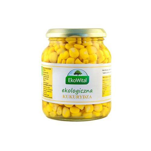 Kukurydza w zalewie bio 350g/230g -  od producenta Eko wital