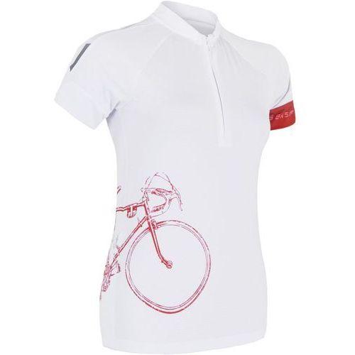 Sensor damska koszulka rowerowa cyklo tour white (8592837024776)