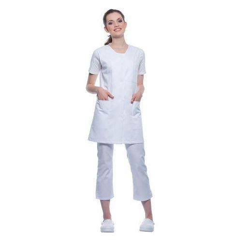 Tunika medyczna bez rękawów, rozmiar l, biała   , basic marki Karlowsky