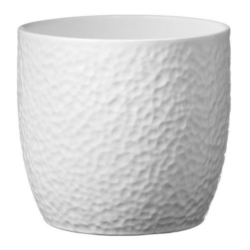 Osłonka doniczki SK Soendgen Keramik Boston śr. 19 cm biała, C0213 B