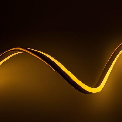 Ledart Wąż świetlny led neon flex żółty 230v 1m