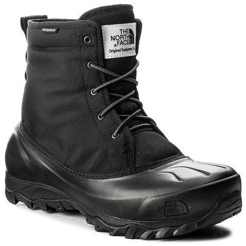 Śniegowce THE NORTH FACE - Tsumoru Boot T93MKSZU5 Tnf Black/Dark Shadow Grey