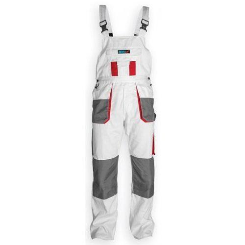 Dedra Spodnie robocze bh4so-l ogrodniczki biały (rozmiar l/52) (5902628211378)