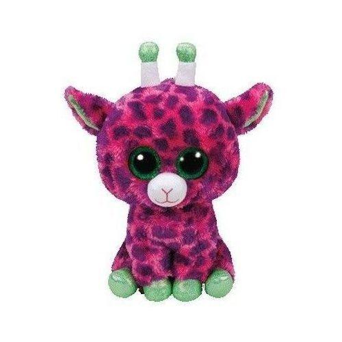 Ty Beanie Boos Gilbert - Różowa Żyrafa 24 cm, AM_0008421371426