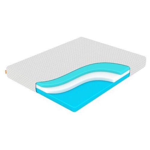 Materac z piany pamięciowej ocean wave transform 120x200 cm, wysokość 22 cm marki Enzio