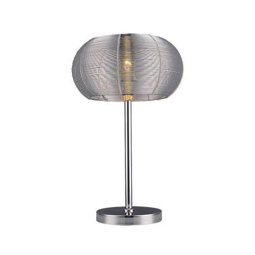 2907 lampa stołowa meda srebrna metal marki Rabalux