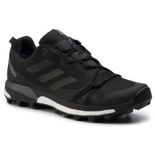 Buty adidas - Terrex Skychaster Lt Gtx GORE-TEX F36099 Carbon/Cblack/Grefou, kolor czarny