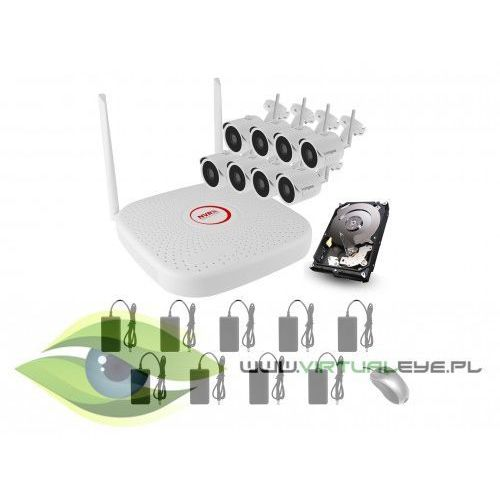 Zestaw do monitoringu wifi2008pg1se200x8 marki Longse