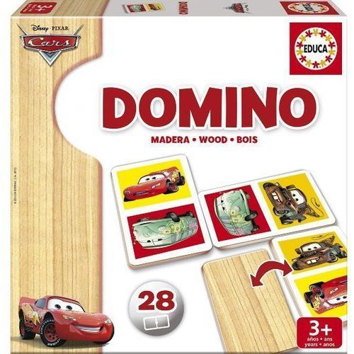 OKAZJA - Educa Domino drewniane,cars