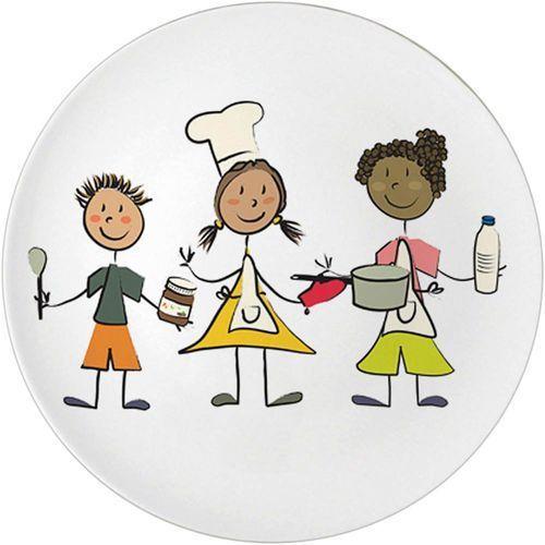Talerz porcelanowy przedszkolny marki Stalgast