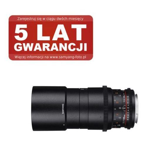 Samyang 100mm T3.1 VDSLR ED UMC MACRO Nikon - produkt z kategorii- Obiektywy fotograficzne