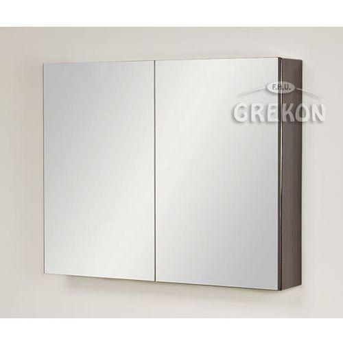 Szafka wisząca z lustrem 80x65 seria Fokus Fino