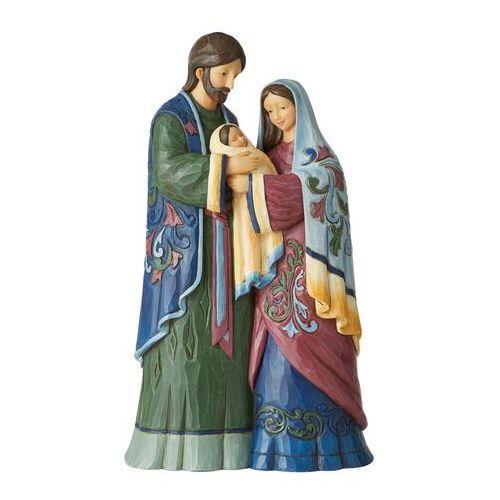 Święta rodzina szopka holy infant, born of grace (one piece holy family figurine) 6006652 figurka ozdoba świąteczna marki Jim shore