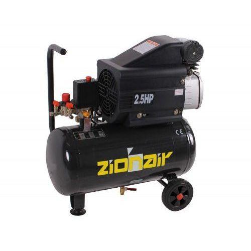Kompresor 2 kw, 230 v, 8 bar, zbiornik 24 litry marki Zion air