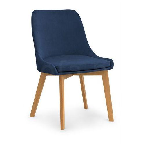 """Krzesło """"MARKUS"""" granatowe, kolor niebieski"""