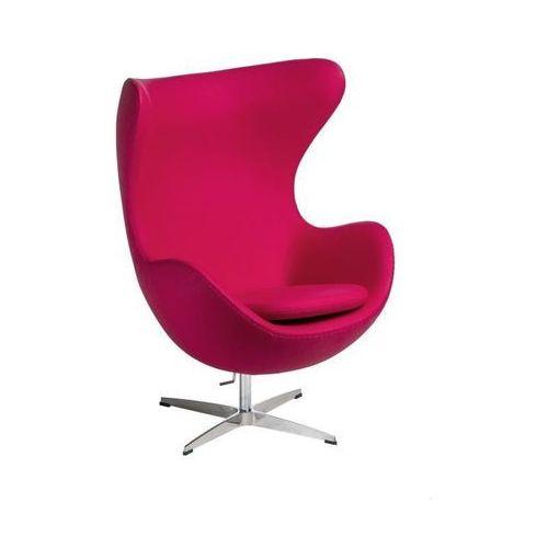 Fotel Jajo kaszmir fuksja 42 Premium, 99173