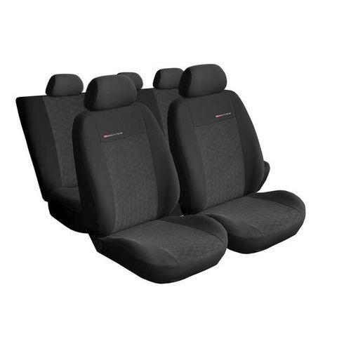 Pokrowce samochodowe miarowe elegance popiel 1 seat alhambra ii + foteliki - 7os. marki Auto-dekor