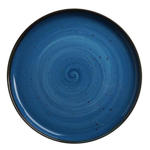 Talerz z wysokim rantem porcelanowy iris marki Fine dine