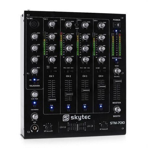 Skytec Pulpit mikserski dla dj'ów stm-7010 4-kanałowy usb mp