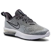 Buty NIKE - Air Max Sequent 4 (GS) AQ2244 003 Wolf Grey/Wolf Grey Anthracite, kolor szary