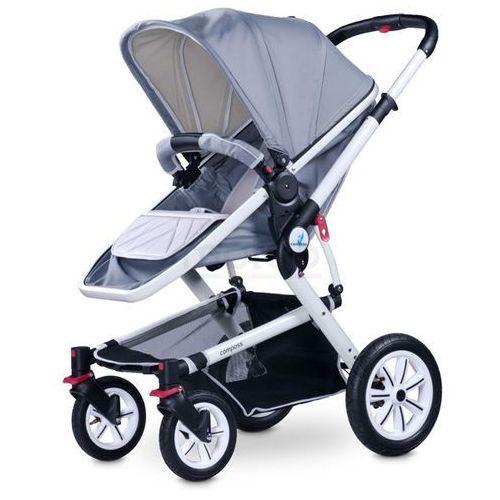 Caretero Compass Grey wózek wielofunkcyjny - Szary
