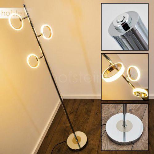 Trio CORLAND lampa stojąca LED Chrom, 3-punktowe - Nowoczesny - Obszar wewnętrzny - CORLAND - Czas dostawy: od 2-4 dni roboczych (4017807281903)