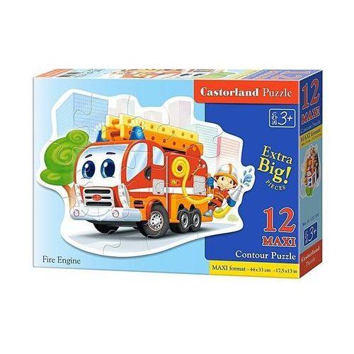 Castor Puzzle 12 maxi fire engine (5904438120109)