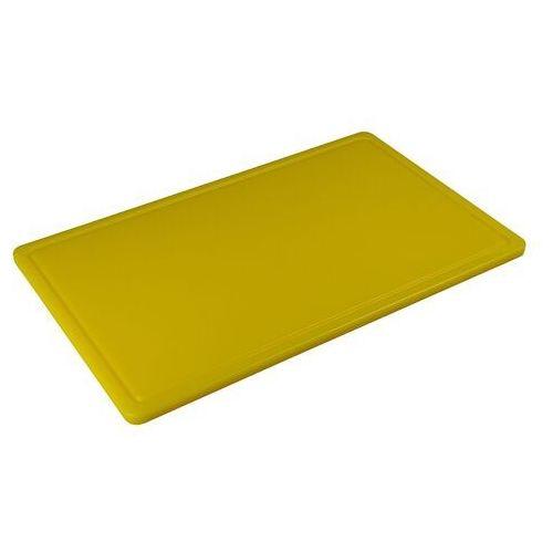Tom-gast Deska z polietylenu haccp żółta