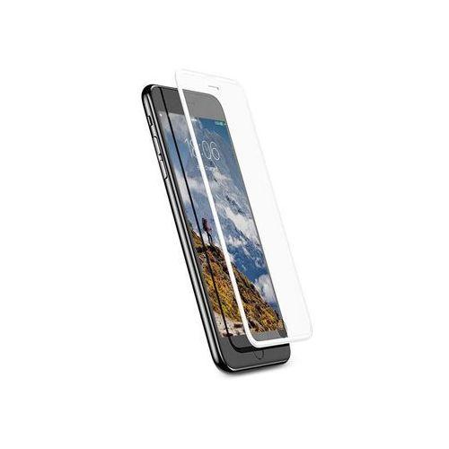 Baseus szkło silk iPhone 6/ 6s/ 7/ 8 z elastyczną ramką Białe - Biały
