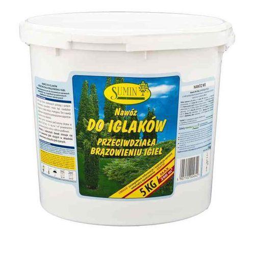 Sumin Nawóz do nawożenia iglaków - przeciwdziała brązowieniu igieł 5kg (5907102004842)