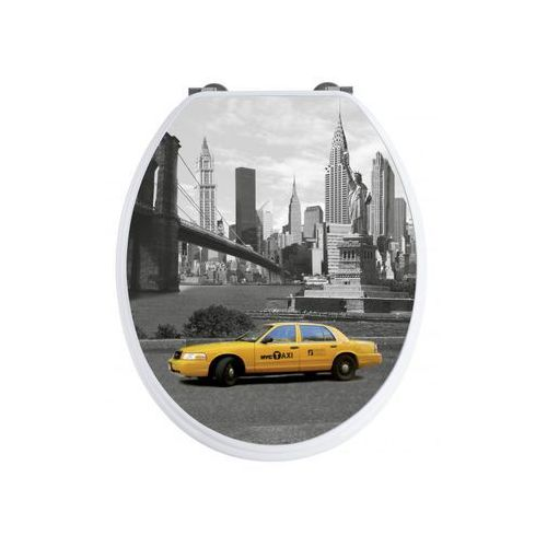 Deska sedesowa NEW YORK wolnoopadająca SENSEA