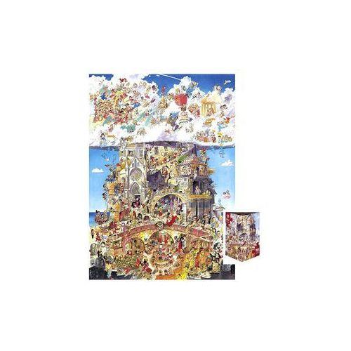 Piekło i niebo. Puzzle + plakat, 1500 elementów (4001689291181)