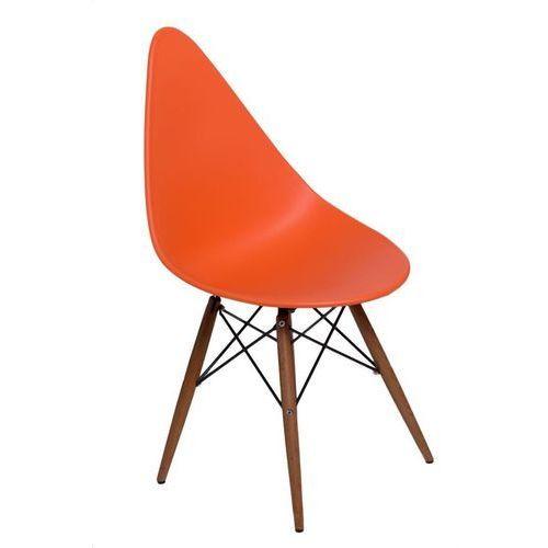 Krzesło Rush DSW dark - pomarańczowy, kolor pomarańczowy