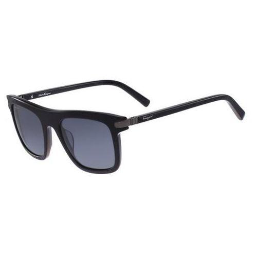 Okulary słoneczne sf 785sp polarized 001 marki Salvatore ferragamo