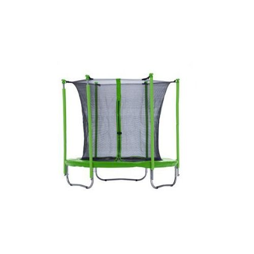 PLATINIUM 183 cm - Zestaw trampoliny z siatką zabezpieczającą