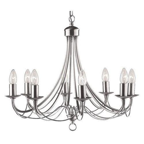 Searchlight 6348-8ss lampa wisząca maypole srebrna