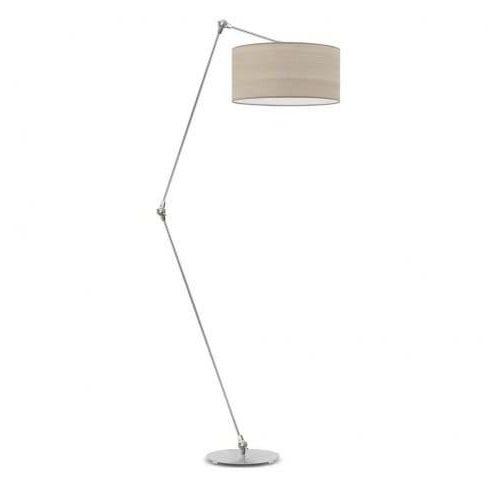 Regulowana lampa stojąca POPPY NATURAL abażur walec, C58A-927A7_20200323211233