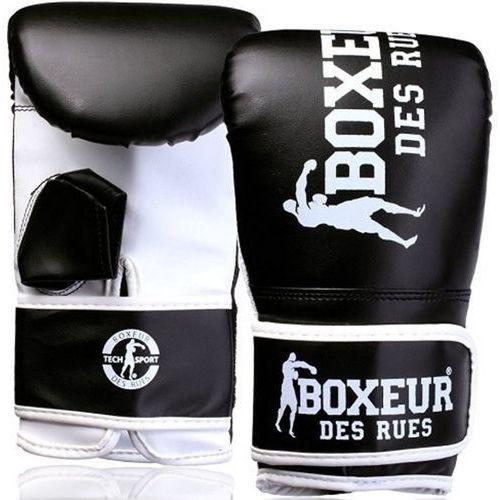 Boxeur Rękawice bokserskie bxt-5140 (rozmiar s) czarno-biały
