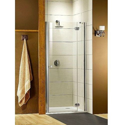 Radaway drzwi wnękowe Torrenta DWJ 90 prawe szkło Grafitowe wys.185 cm 32000-01-05N