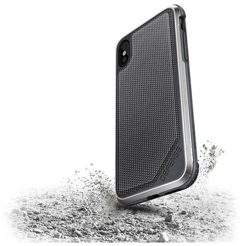 Etui X-Doria Defense Lux Aluminum iPhone X Balistic Nylon