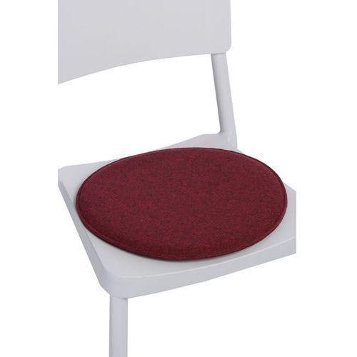 D2.design Poduszka na krzesło okrągła czer. melanż modern house bogata chata