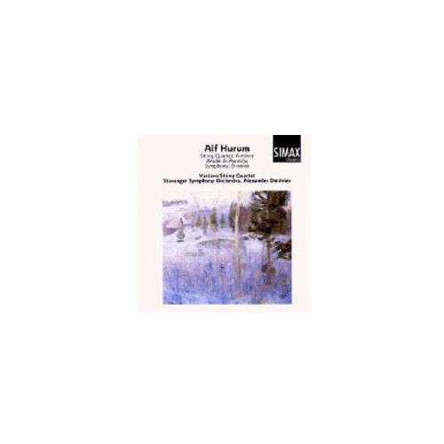 Simax classics Alf hurum: string quartet a minor / bendik og aarolilja / symphony d minor