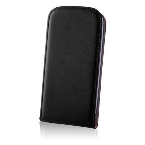 Etui FOREVER TF1 Samsung Galaxy Core Plus Deluxe czarne, kolor czarny