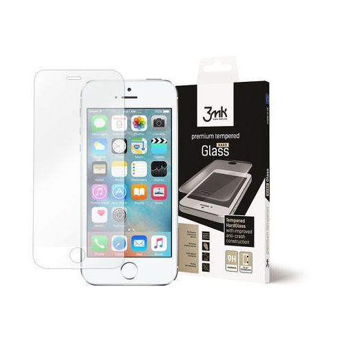 Apple iPhone 5 / 5S - szkło hartowane 3MK HardGlass, FOAP0093MHG000000