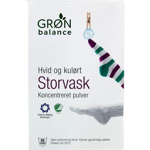 Gron balance (kosmetyki, środki czystości) Proszek do prania białych i kolorowych ubrań 1,8 kg - gron balance (5701410392505)